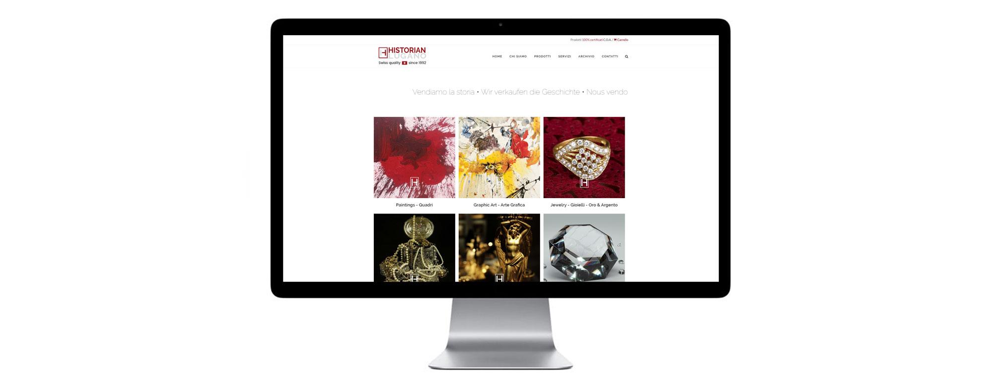 web design a schede