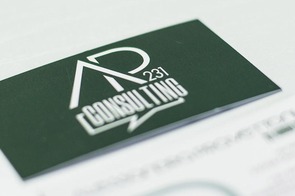 Studio dell'immagine e realizzazione sito di 231 Consulting