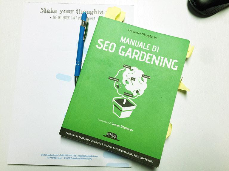 Miglior posizionamento con Manuale di SEO Gardening