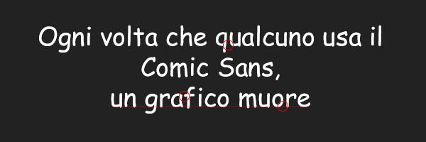 scegliere il font