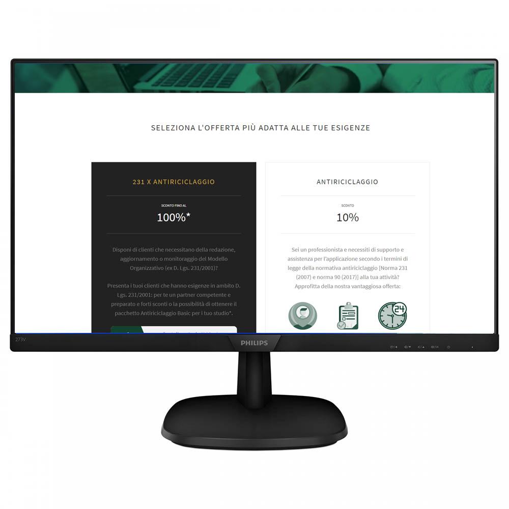 Web design sito consulenza